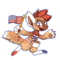 (DTA ENTRY) 4th of July Bagbean! by Topaz-The-CrossCat73