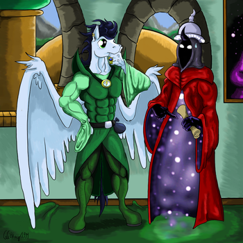 The Conflux - Heroes of Might and Magic (MLP) by Witkacy1994