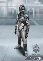 Armour Suit Design of the Royal Army Medical Corps by RobbieMcSweeney