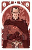 Game of Thrones' cards | King Stannis Baratheon by SimonaBonafiniDA