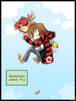 ($10) hoothoot used fly