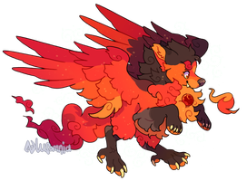 [Monsterfoo|open] The Phoenix by Lusomnia