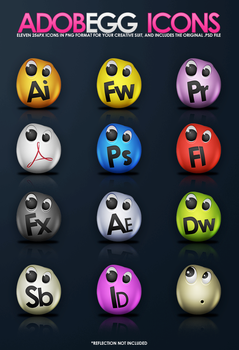 AdobeEgg Icons by sergiomota