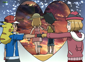 Serena And Ash Moments by TiaBLZ