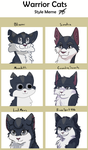 Warrior Cats Style Challenge by drawingwolf17