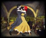 Snape and Haruki dance by Yoitefriend
