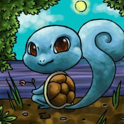 squirtle by cerasly