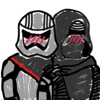 The Last Jedi General Discussion - Page 4 Kylo_ren_x_captain_phasma_by_crybabynessie-d9lat19