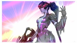 Overwatch:Widowmaker Edit by Liz-Farron