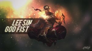 League of Legends God Fist Lee Sin Wallpaper by KPPOnline