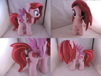 MLP OC Tilly Plush (commission) by Little-Broy-Peep