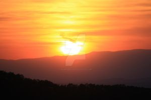 Sunset in the Blue Ridge II by WampusDragon