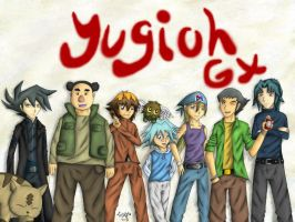--Yu-Gi-Oh GX-- Group Picture by pdutogepi