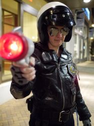 Bad Cop Cosplay - At Magfest 2015 by Lithe-Fider