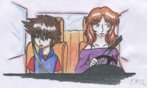 seiya and marin in the car by Maoden-DOis