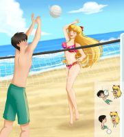 Volleyball distracts You by laeity