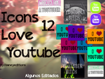Iconos Youtube by Dianeyeditions