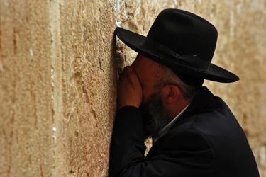 Orthodox Jew, Western Wall by fourthwall