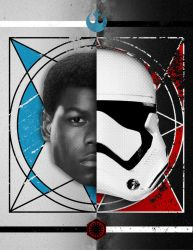 Star Wars: The Duality of Finn by ClintonKun