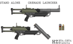 Stand Alone 40mm Grenade Launcher by HypnoZeus
