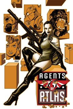Agents of Atlas cover by Devilpig