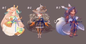 [25] [CLOSED] Auction - chibi adopts! by Hell-Alka