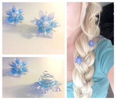 Elsa Snowflake Accessory - Disney's Frozen Cosplay by Jellyfish-Soup