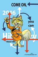 Fan Hillary by LytletheLemur