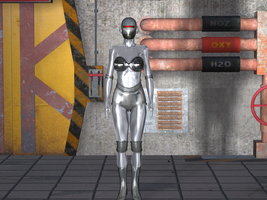 Gynoid Conversion Complete by creativeguy59