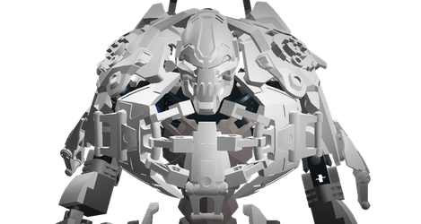 Moc Skull Juggernaut by Pearl-Shadow