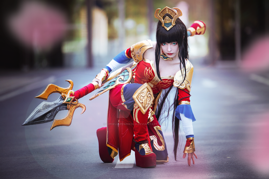 Warring Kingdoms Nidalee Cosplay by OpheliaPennifold
