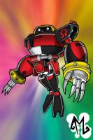 Super Chaos - E-123 Omega by cartoonist4eternity