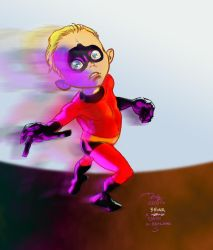 Dash of the Incredibles! by artmonkeys