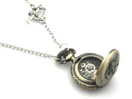 Steampunk Locket Pendant - Cupids Locket by IndustrialSwank