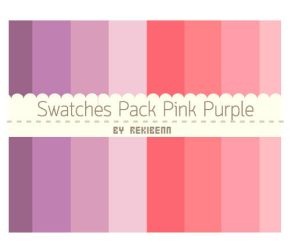 Swatches Pack Pink Purple by TheSeekerReki