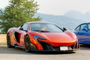 Volcano Orange 675LT by SeanTheCarSpotter