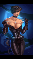 Catwoman  by Kid-Destructo