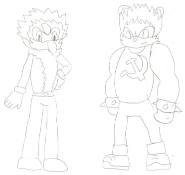 Male OCs as Sonic Characters Part 2 by NaruHinaFanatic