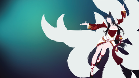 Ahri by Cresceria