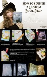Custom Book Prop With Secret Compartment Tutorial by HeatherAfterCosplay