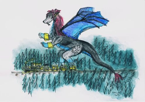 Wolfdragon Syndraia by CutePigTail