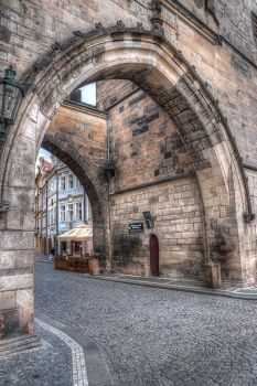 Entering Mala Strana By Day - Rework 21 by InayatShah