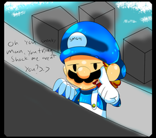 --Smg4-- Trying Shocking Me? by PhoenixFireWolf12