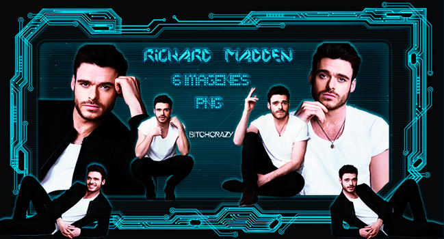 Richard Madden PNG by bitchcrazy