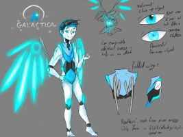Galactica Design Sheet by MephilesTheCute09