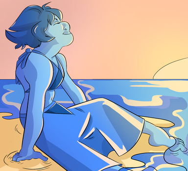 Lapis On The Beach by demiurgicBloodsucker