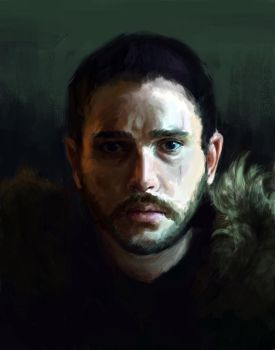 KING IN THE NORTH by sparklingaliens
