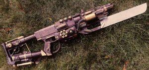 Steampunk Assault Rifle (Final) by KingMakerCustoms