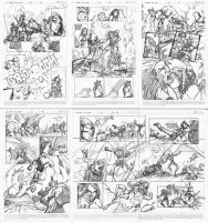 MARVEL TEST PAGES by osnaya