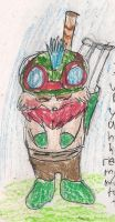 Bowing Teemo by kingofthedededes73